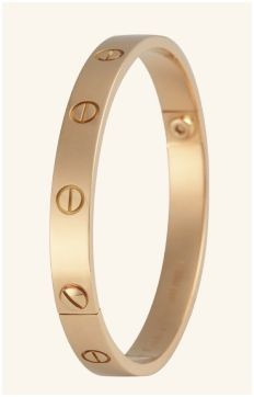 bracelet Love or jaune 18 cts Cartier.JPG
