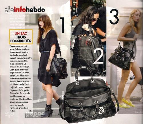 ELLLE du 11 sept nouveu sac Dior0001.jpg