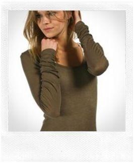 tee shirt kaki American Vintage La Vitrine de la Mode.JPG