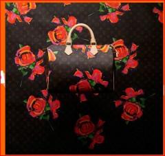speedy LV monograme roses Stephen Sprouse.JPG