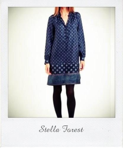 robe Dali en soie imprimée Stella Forest chez MonShowRoom pola.jpg
