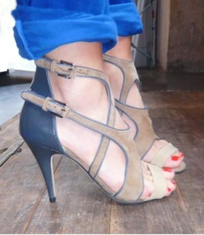 sandales S2A beige et bleu talon 10 cm.JPG