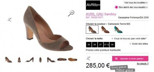 escarpins AVRIL GAU Sandisy PE 09 285€ sarenza.JPG