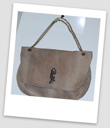 sac manhattan en cuir effet cobra taupe avec estampe éléphant Sous le Pavés pola.jpg