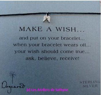 bracelet cordon angel Dogcared les Ateliers de Sathyne.JPG