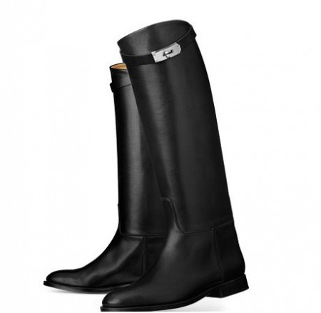 bottes Jumping veau box attache kelly HERMES.JPG