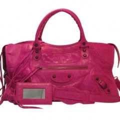 city bag rose indien de Balenciaga sac de luxe.jpg
