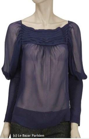 blouse en soie indigo by Malene Birger LBP.JPG