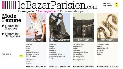 le bazar parisien page d'accueil.JPG
