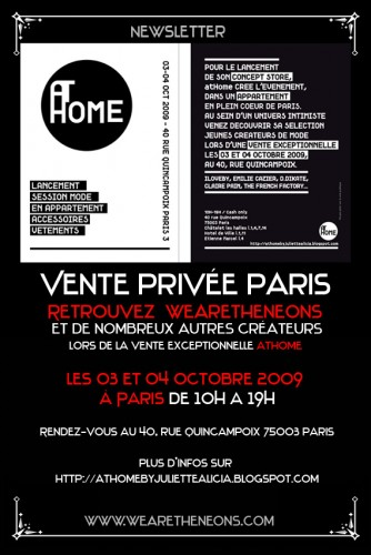 vente privée Wearetheneons paris 3 et 4 oct.jpg
