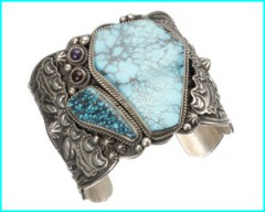 bracelet amethyse et turquoise Navajo Harpo.jpg