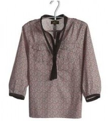 blouse liberti pint red Le Mont Saint Michel PDT.JPG