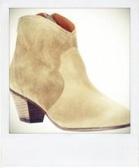 low boots croute de cuir beige Parcours Paris pola.jpg