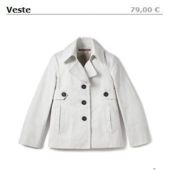 veste caban CDC l'hiver à petits prix.JPG