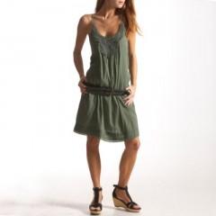 robe Active Wear crêpon macramé vert lavé.jpg