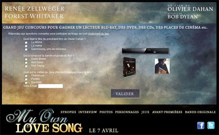 jeu concours My own Love Song.jpg
