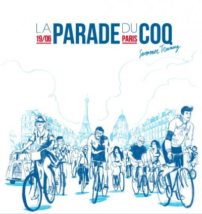 parade,bike party,coq sportif,paris