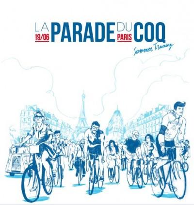 parade,bike party,coq sportif,paris